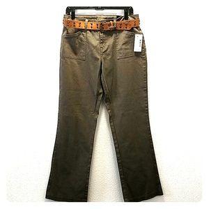 Fashion Bug Women's Stretch Jeans With Belt Size10